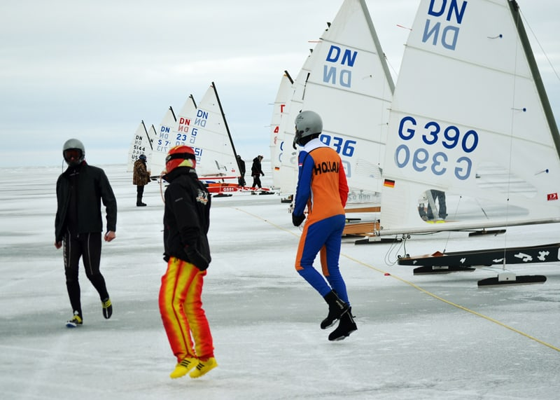 Dn Iceboat World Championship Jump