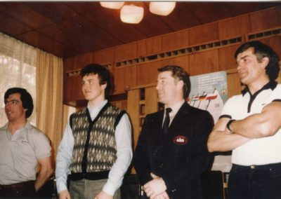 Bogdan Kramer, far right